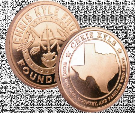 Chris Kyle Copper Commemorative Coin
